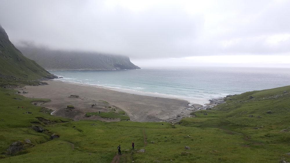 Kvalvika Beach Norwegen Lofoten