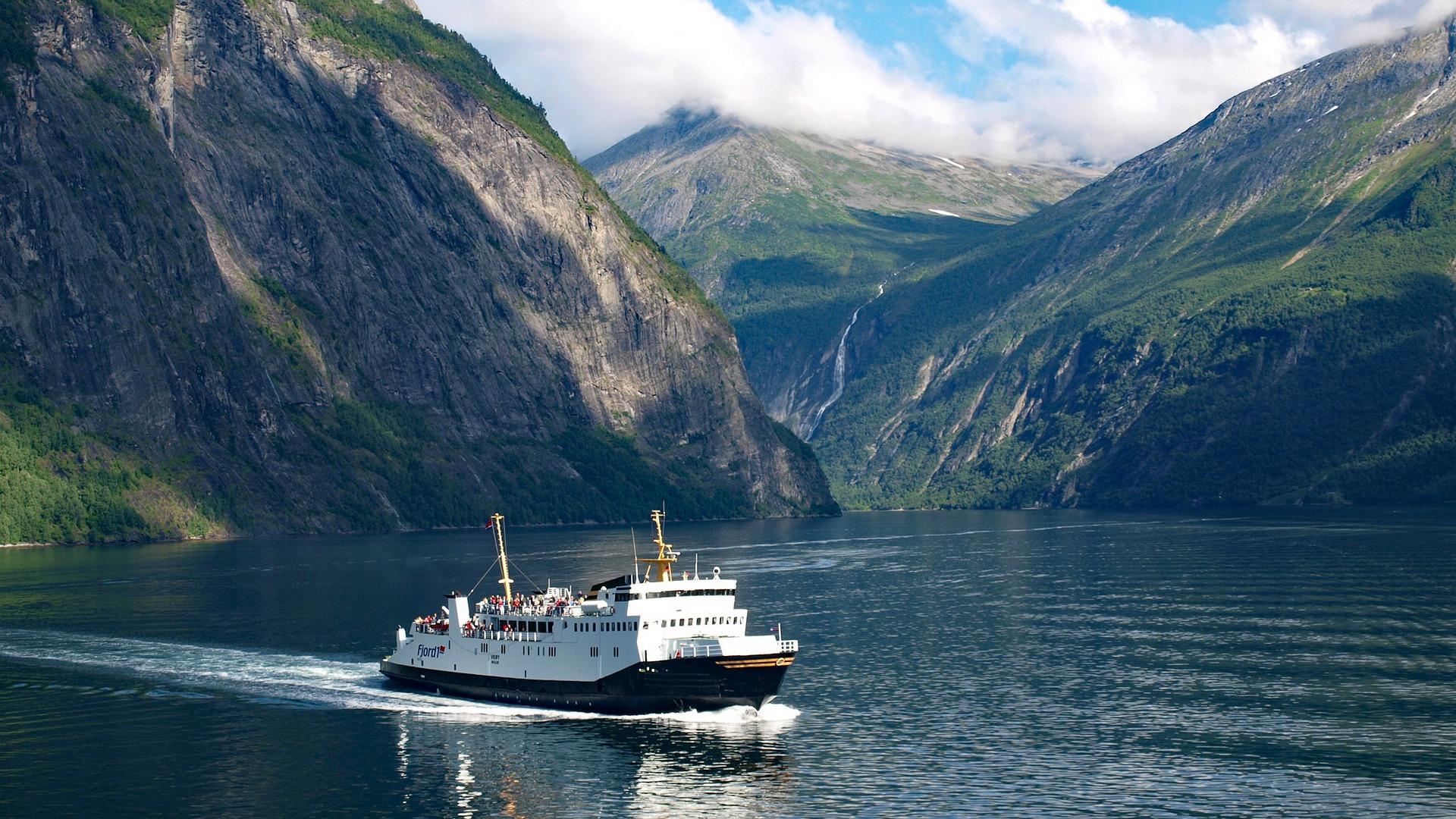 Fähren in Norwegen
