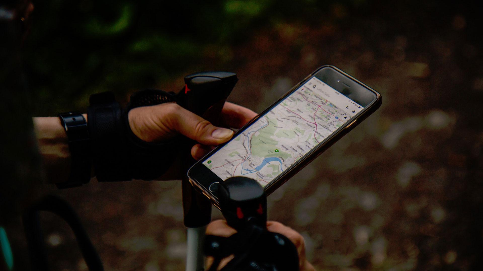 Interaktive Karten Smartphone